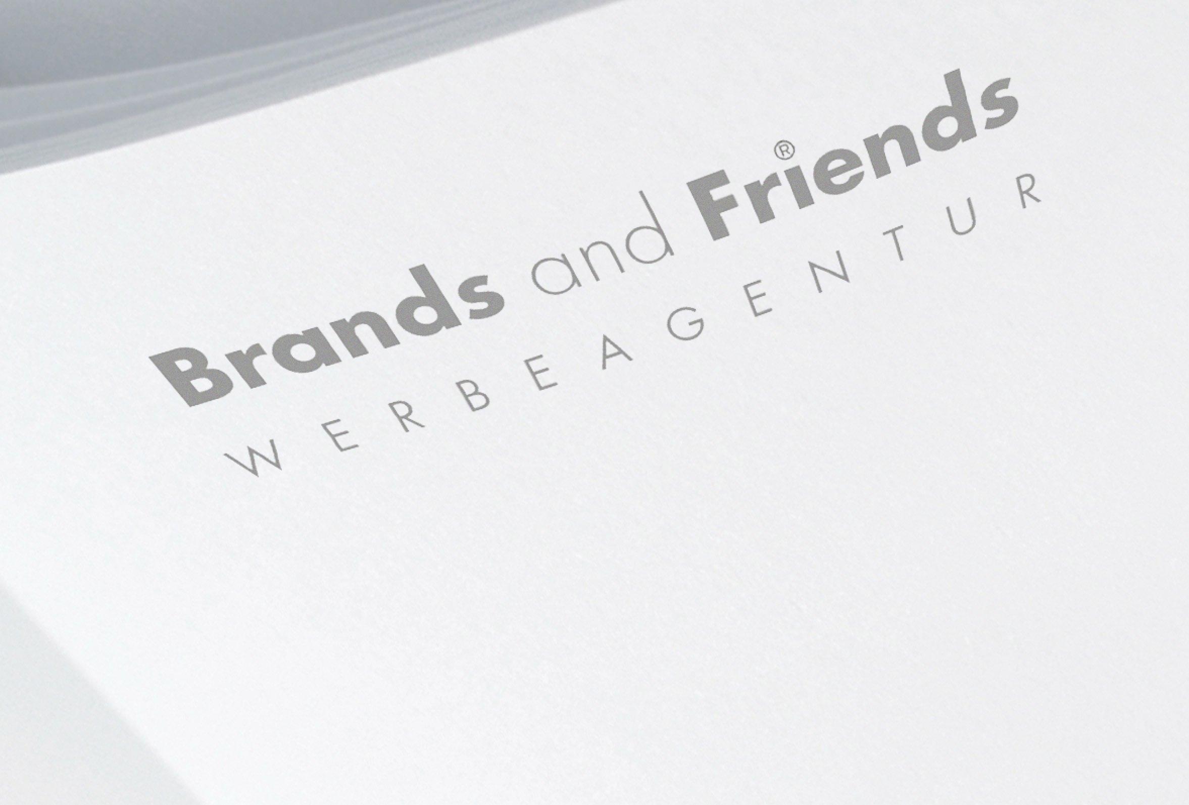 Brands&Friends Schriftzug