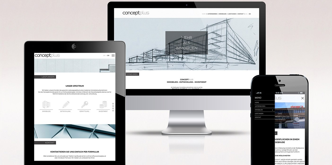 Website conceptplus