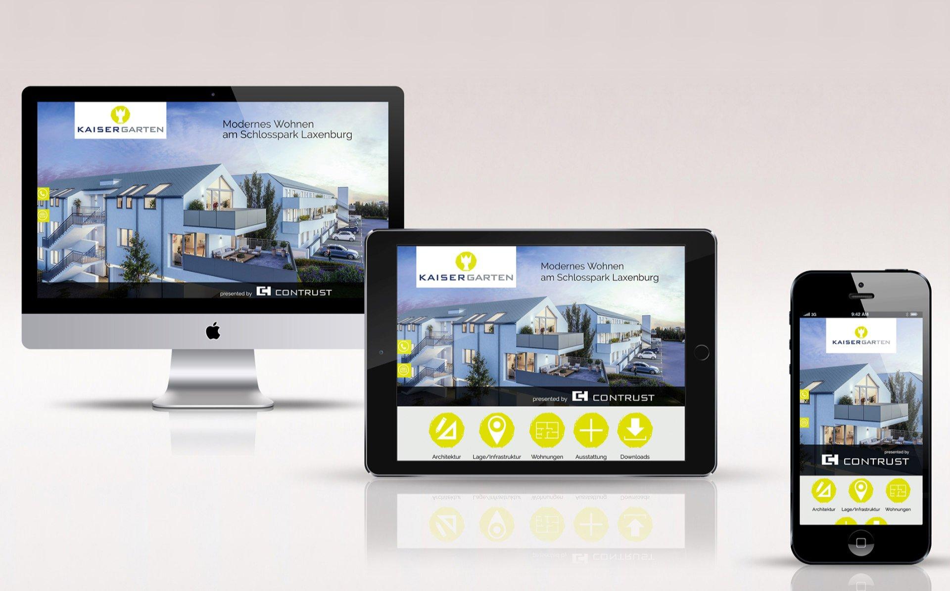 Website Kaisergarten
