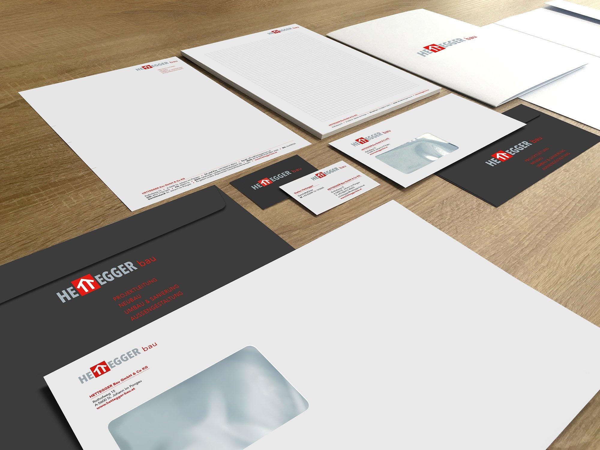 Marke & CD Hettegger Bau