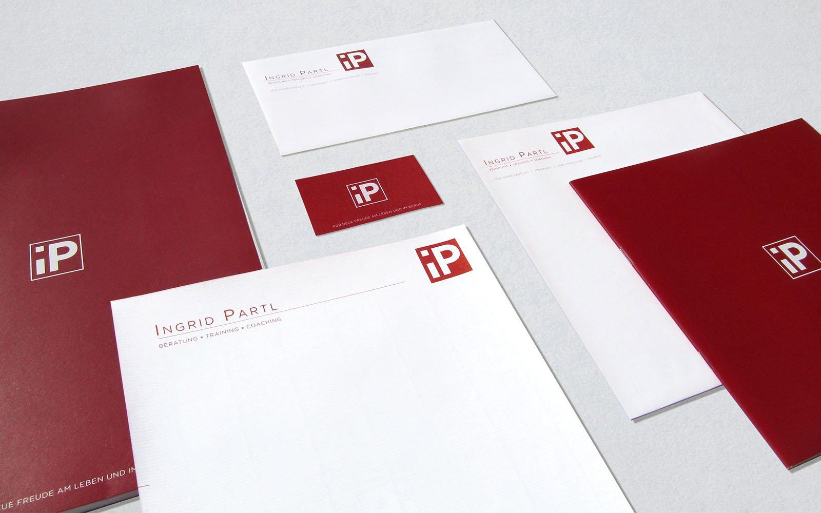 Ingrid Partl branding