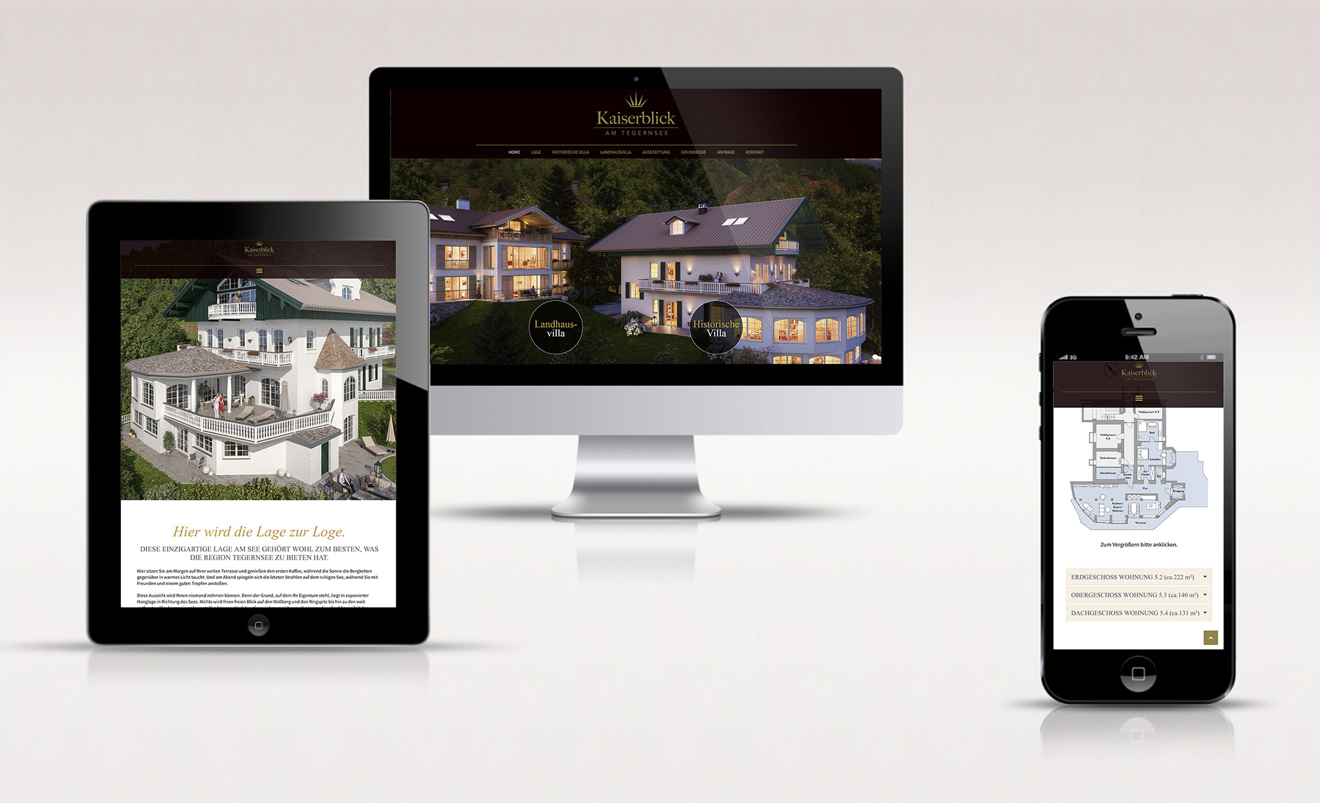 Website Kaiserblick