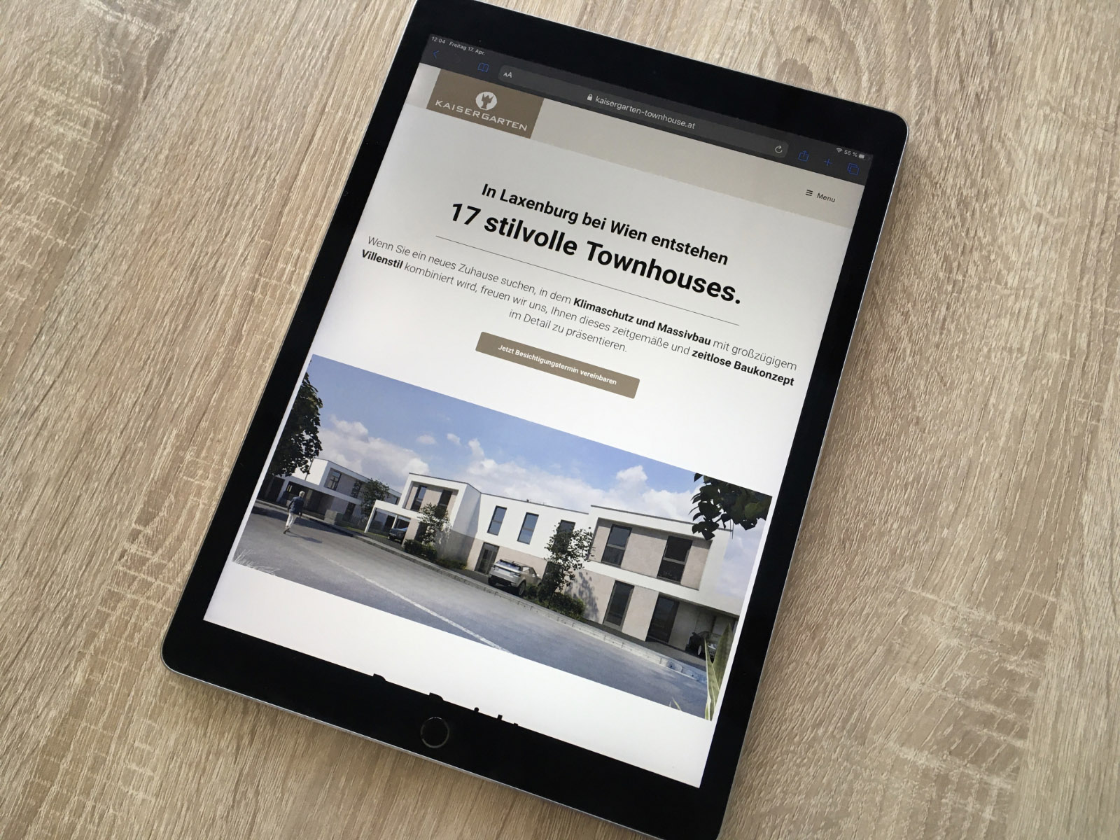 Klimassivhaus Website
