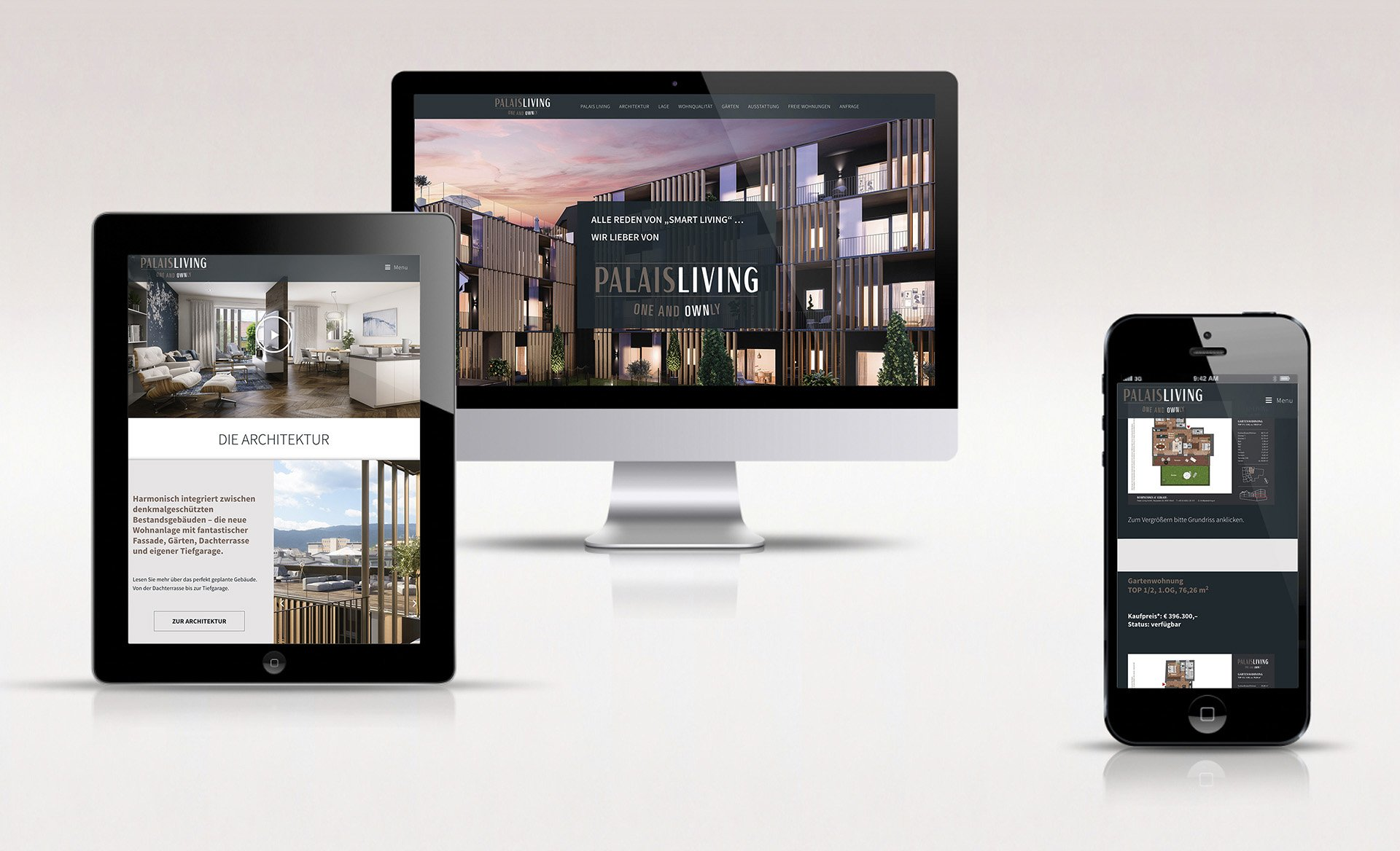 Website Palaisliving