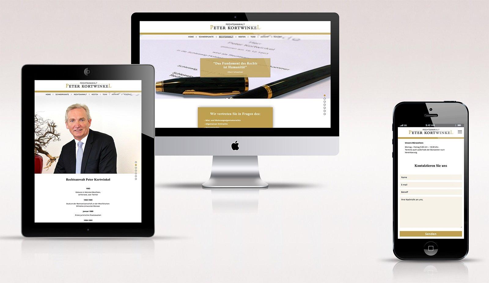 Website Kanzlei Kortwinkel Kopie