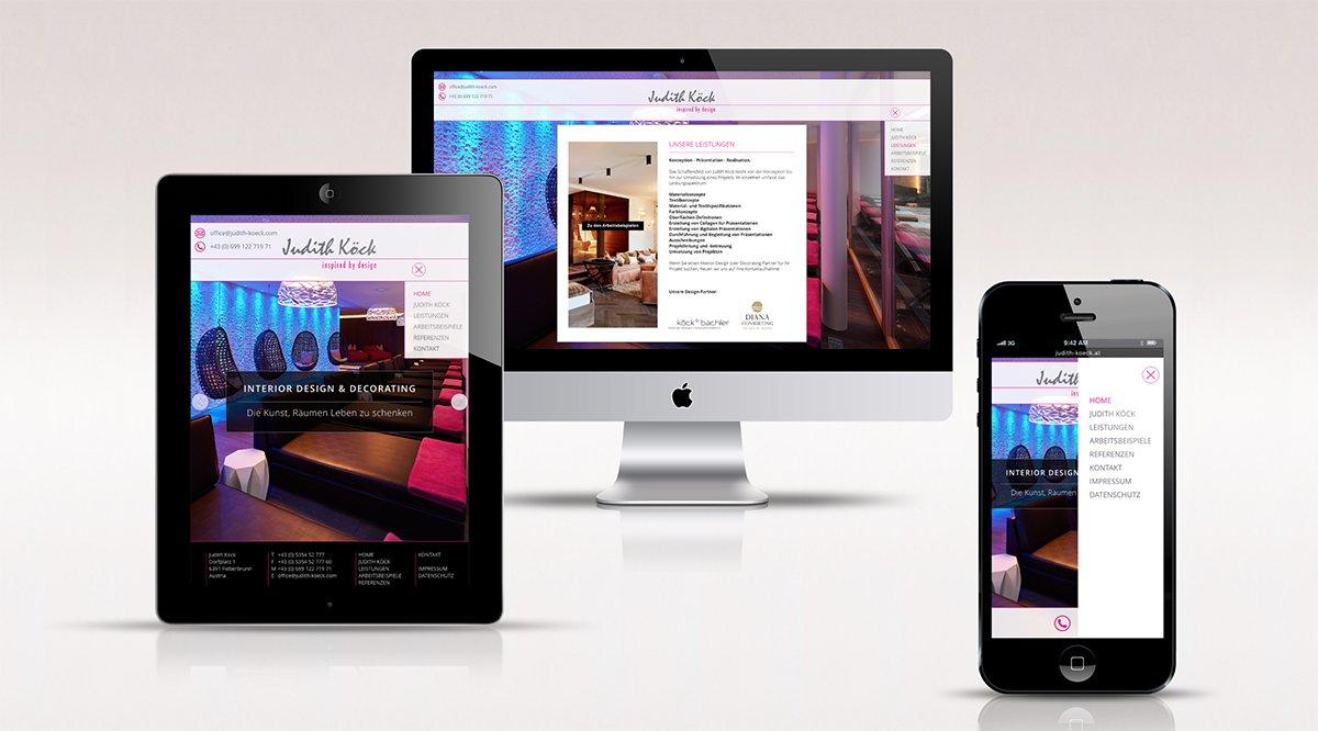 Webdesign Judith Koeck